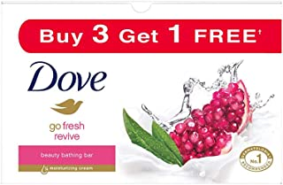 Dove Go Fresh Revive Beauty Bar, 100 g (Pack of 4)