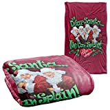 I Love Lucy Dear Santa Officially Licensed Silky Touch Super Soft Throw Blanket 36' x 58'