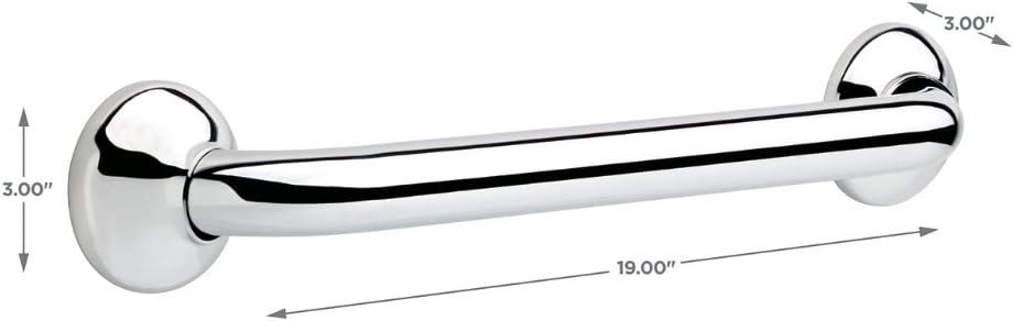 DELTA DF59816-BS1-XX Lahara 16 x 1 1//4 Decorative Grab Bar Bright Stainless