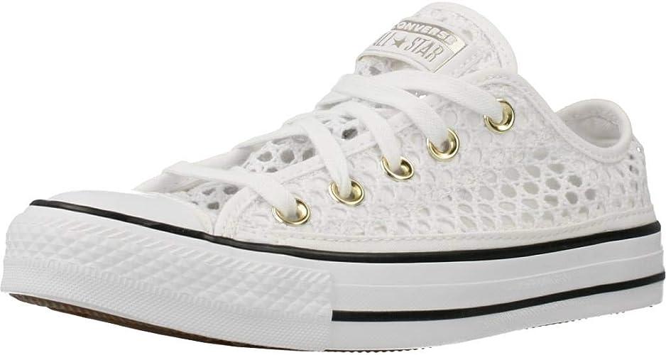 Converse Chucks Grigio 565495C Chuck Taylor all Star - Ox Bianco ...
