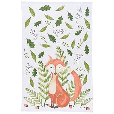 Now Designs Printed Kitchen Towel, Freddy Fox