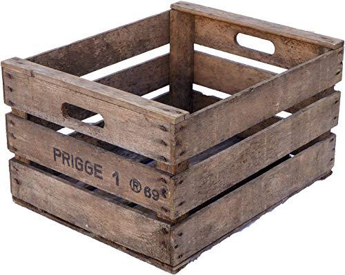 Cassetta per frutta Rolf dall'antico paese, casse di frutta, in legno, casse di mele, stile vintage
