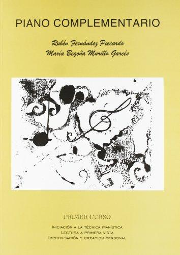 Piano complementario, primer curso: Iniciación, lectura e improvisación (MUSICA)