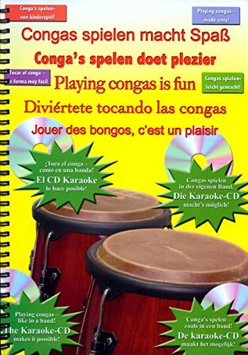 Congas Spielen Macht Spaß (Mehrsprachig)