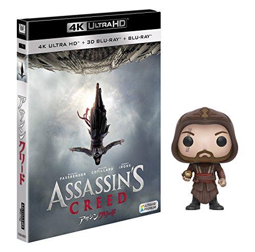 【Amazon.co.jp限定】アサシン クリード (日本未発売-POP!-『アサシン クリード』 アギラール付き)(3枚組)[4K ULTRA HD + 3D + Blu-ray]