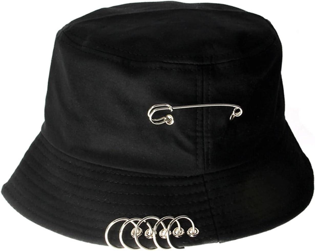 OMYLFQ quality assurance Bucket Hat Fashion Solid Color F Summer Spring Philadelphia Mall