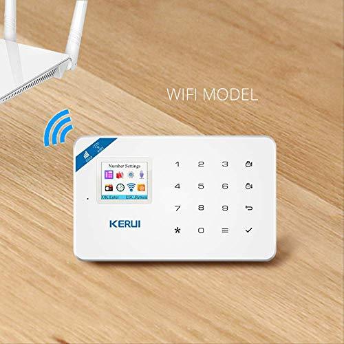 Smart Campanello Wireless Android Ios App Wireless Gsm Sistema Di Allarme Domestico Sim Smart Home Antifurto Sicurezza Wifi Ip Camera Sistema Di Allarme Kit 1