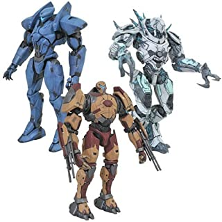 Pacific Rim Uprising Select Wave 3 Set of 3 (November Ajax, Valor Omega, Jaeger Drone)
