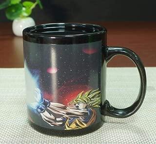 NEW style Dragon Ball one piece Ceramic Heat Reactive Color Change Coffee Mug Cup Birthday gift