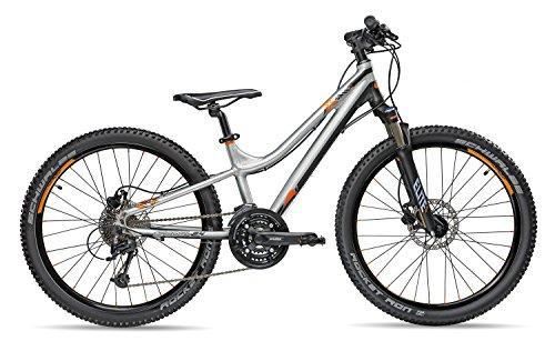 S.Cool troX Elite Brushed Bicicleta Juvenil, Infantil, Negro