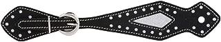 black western spur straps