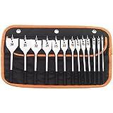 Draper 82634–Set di punte piatte per legno, argento (pezzi)...