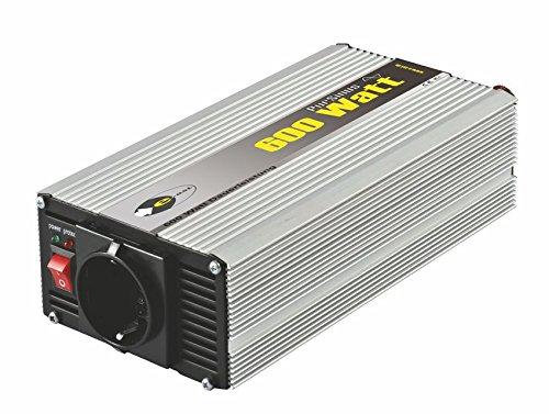 Sinus-Wechselrichter 12 V DC/230 V AC 50 Hz- 600 Watt Dauerleistung