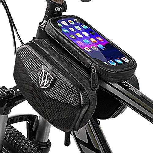 GHJU Bike Saddle Bag Bike Seat Bag- Cycling Supplies Luggage Bag Mountain Bicycle Storage Bag Carrier Waterproof Cycling (Color : Black, Size : One Size),Size:One Size,Colour:Black qingqiao