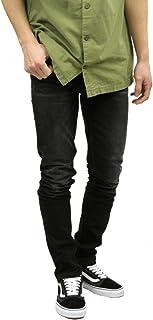 [ヌーディージーンズ] ジーンズ メンズ 正規販売店 Nudie Jeans グリムティム ボトムス ジーパン GRIM TIM DENIM JEANS DEEP BLACK WORN 572 1125510 (コード:4140516219)