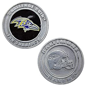 NFL Baltimore Ravens Challenge Coin Poker Card Cover