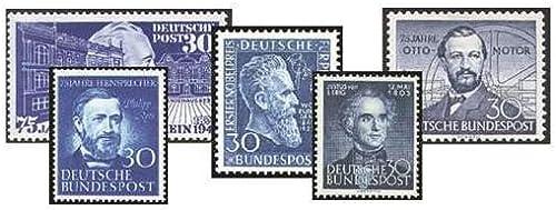 Goldhahn Set  BRD Die blauen 30er Nr. 116,147,150,161,166 postfrisch  Briefmarken für Sammler