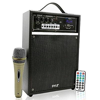 Pyle Pro 300 Watt Outdoor Indoor Wireless Bluetooth Portable PA Speaker