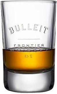 bulleit Bourbon Whiskey Tumbler Glas