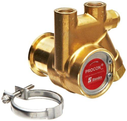 Procon 111A100F11AA Brass Rotary Vane Pump, 3/8