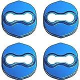 4 Piezas Cubierta de Cerradura de Puerta de Coche Compatible con Kia K3 K5 Freddy Acero Inoxidable Cubierta del Delantero Protección Accesorios