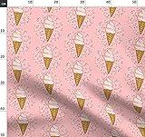 Eis Stoffe - Individuell Bedruckt von Spoonflower - Design