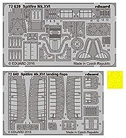 エデュアルド 1/72 ビッグエド スピットファイアMk.16 バブルトップ エデュアルド用 プラモデル用パーツ EDUBIG72124