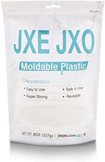 JXE JXO 手びねりプラスチック おゆまる 熱可塑性 樹脂粘土 お湯につけて何度でも使える エコパック 粒状 DIY用 227g