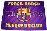 Fahne Barça, offizielle Kollektion FC Barcelona, 140x100cm