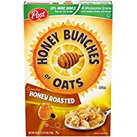Post Honey Bunches of Oats Crunchy Honey Roasted Cereal 18 oz Box