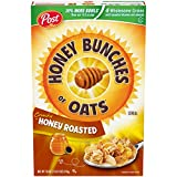 Post Honey Bunches of Oats Crunchy Honey Roasted Cereal 18 Ounce (Pack of 1) Box
