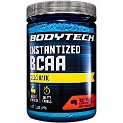 professional The optimal ratio of BodyTech BCAA (branched chain amino acid) fruit punch 2: 1: 1 supports muscles …