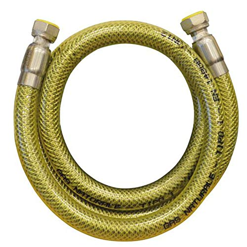 'PSP–Flexible para gas recubierto 1/2mt 2para cocina Certificado Uni en 14800PSP Aries–F0001–00117