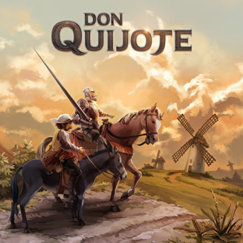 Don Quijote audiobook cover art