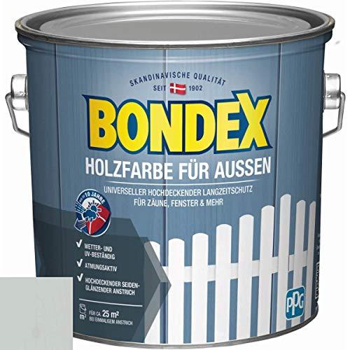 Bondex Holzfarbe für Aussen Lichtgrau/RAL 7035 2,5l - 440601