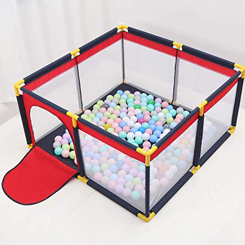 Reisen Laufstall Baby-bewegliches Säuglingsspiel Playpen Compact Starker Durable Spielplatz Playard Spielzeug Waschbar Set for Babys / Kleinkind / Neugeborenes / Sicheres Crawling Innen- und Außenbere