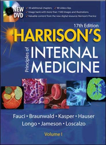 Harrison's Principles of Internal Medicine Vol 1/2