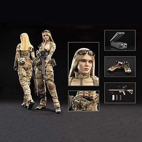 ZSMD Figuras de coleccionista de 1/6, juego completo, sin costuras, 30 cm, soldada, Jenner y pastor alemn, muy flexible, modelo de mueca, para fans