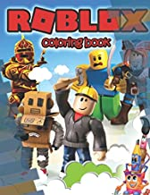 Roblox Coloring Book: Amazing Coloring Book With Super Excited Images For Kids Ages 4-8