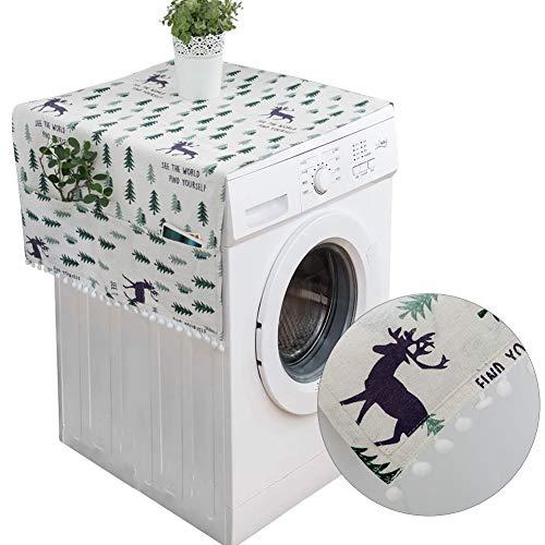 Kühlschrank Staubdichte Abdeckung,Kühlschrank Staubschutz mit Aufbewahrungstasche,Waschmaschine Staubschutz,Waschmaschine Abdeckung,Kühlschrank Staub Cover