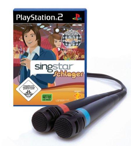 SingStar Schlager inkl. 2 Mikrofone