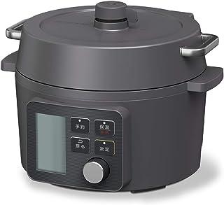 電気圧力鍋 2.2L ブラック KPC-MA2-B アイリスオーヤマ 65種類自動メニュー搭載...