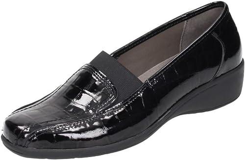 Comfortabel mujer Slipper negro, 941960-1