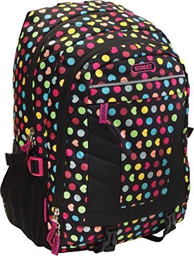Exclusiv* Regenbogen Schulrucksack Mädchen Tasche Notebook Laptop Daypack 45x32x20cm+Federtasche Edel