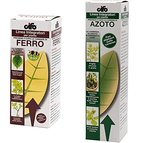 Cifo Ferro integratore per piante 100 ml & Azoto integratore per piante 250 ml