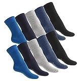 Celodoro 10 Paar Unisex Socken EVERYDAY!-Kollektion Jeans-35-38