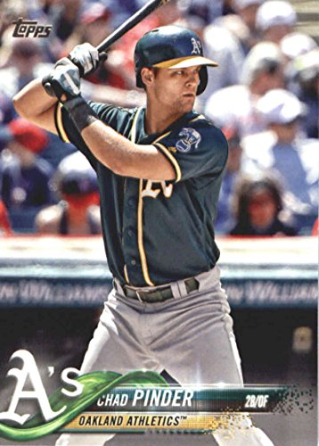 2018 Topps Baseball Series 2#394 Chad Pinder Oakland Athletics Official MLB Trading Card