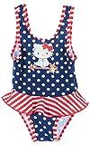 Maillot de baño de lunares 1pieza bebé niña Charmmy Kitty de 6a 23meses rojo Pois marine/blanc Talla:23mois