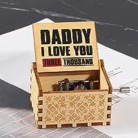 木製ハンドクランクオルゴールオルゴール、木製ハンドクランクオルゴールガールズクリスマスバースデーギフト、クラフトデコレーション愛好家向けバースデーギフト