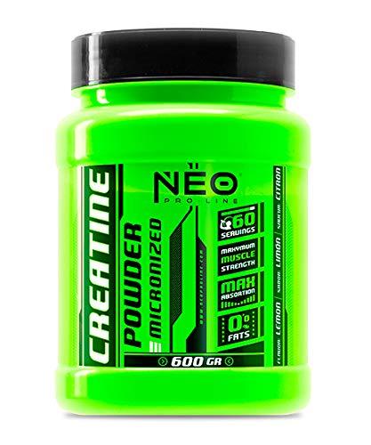 CREATINE POWDER FRESA ACIDA 600 g - Suplementos Alimentación y Suplementos Deportivos – NEO PRO-LINE